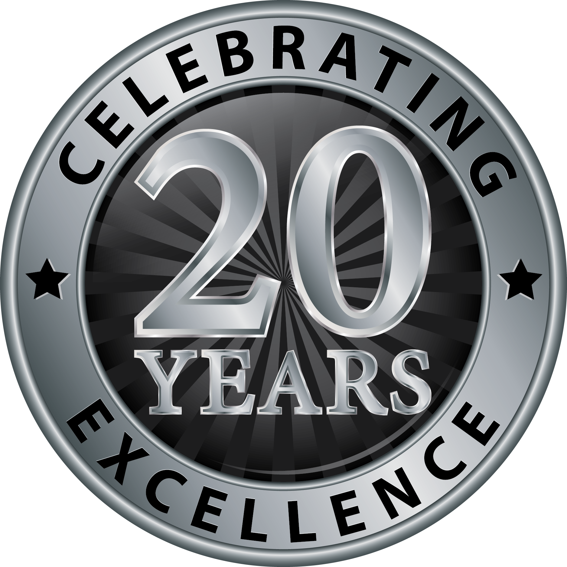 Celebrating 20 Years Excellence